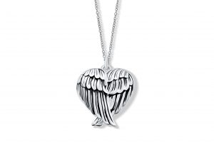 Angel Wing Locket - Sterling Silver Locket