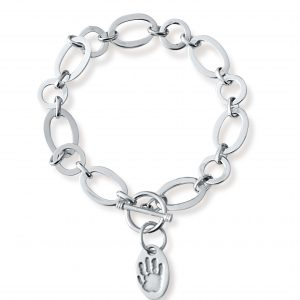 Alternate Link Bracelet – Hand and Footprint