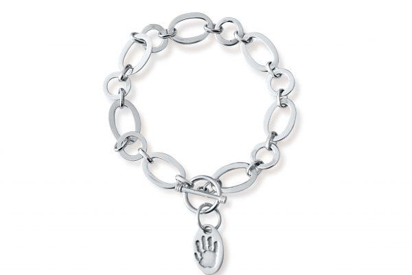 charm bracelet with links
