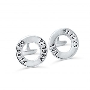 personalised cufflinks name