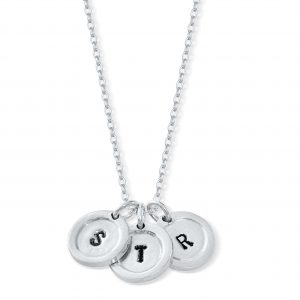 Child's Initials Necklace