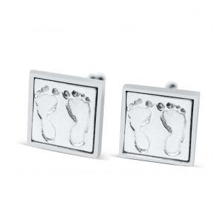 square footprint cufflinks