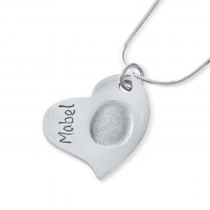 Curvy Fingerprint Charms